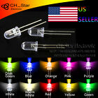 10colors 500pcs 5mm Led Diodes Water Clear Red Green Blue Yellow White Mix Kits