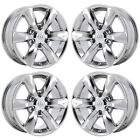 18 LEXUS GX460 PVD CHROME WHEELS RIMS FACTORY OEM 2017 2018 SET 74229 EXCHANGE