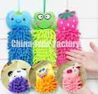 Cute Cartoon Design Kid's Children Absorbent Water Hand Dry Lovely Towel 6 Color