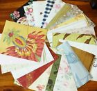 20 pc Wallpaper Sample Assortment 5x7 Upcycle Crafts Mixed Media Art Card Supply
