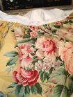 VINTAGE RALPH LAUREN TWIN BEDSKIRT DUST RUFFLE EVELYN FLORAL COTTON 15