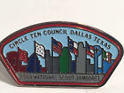 Boy Scout 1989 National Jamboree Lapel or Hat Pin CIRCLE TEN Area Council Texas