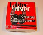 Vintage LABTEC LT-20, LT20 Stereo Headphones, In Box Exellent Condition