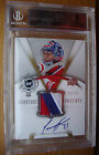 07-08 THE CUP CAREY PRICE ROOKIE 3CLR 7BREAK SIGNATURE PATCHES AUTO 75 BGS 9