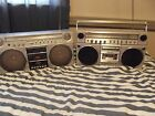 vintage boombox panasonic 2 one is a 5150 and a 5085!!