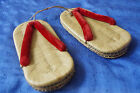 Antique, old, vintage japanese clogs/shoes/slippers. Around mid 50es