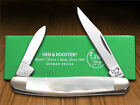 HEN & ROOSTER AND Genuine Mother Of Pearl Pen Stainless Pocket Knife Knives
