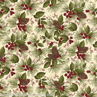 MODA Fabric ~ THROUGH THE WINTER WOODS ~ by Holly Taylor (6552 15) - by 1/2 yard
