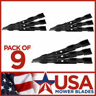9 Pack Craftsman 134148 19 15 16 5 Point Formed Mulch Lawn Mower Blade