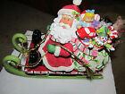 HOLIDAY CHRISTMAS FITZ and FLOYD MINGLE JINGLE BE MERRY MUSICAL SANTA * NEW