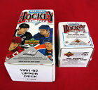 1991-92 UPPER DECK COMPLETE SET SERIES 1 & 2 WITH YOUNG GUNS (700) FORSBERG RC