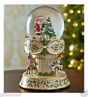 LENOX 40th Ann Ed Holiday 2014 REVOLVING & Streaming MUSICAL Snow Globe Carousel