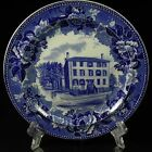Antique Wedgwood Birthplace of Longfellow Portland ME Maine Historic Plate