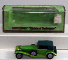 DTE LESNEY MATCHBOX YESTERYEAR Y-16 SCARCE GREEN ROOF/SEATS LIME 1928 MERCEDES