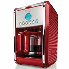 BELLA 13839 Dots Collection 12 Cup Programmable Coffee Maker Brewing Machine