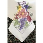 Dimensions Needlecrafts Stamped Cross Stitch  Flowers & Berries Table Cloth