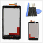 Black Front Touch Screen Glass Panel Digitizer & Frame For Nokia Lumia 820 Tools
