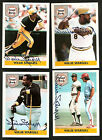 1992 Front Row WILLIE STARGELL 5 Card Autograph Lot Set 150 COA Auto