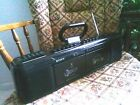 80s VINTAGE SONY CFS-EW60 BOOMBOX - AM/FM RADIO, DUAL CASSETTE Rare Tested