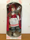 15 Inch Little Red Riding Hood Porcelain Doll