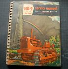 ALLIS CHALMERS HD9 TRACTOR DOZER CRAWLER Service Repair Shop Manual book vintage