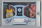 2007-08 Kevin Durant AL Horford Dual rookie RC on card Auto Autograph 25 25