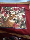 Buck Deer Fabric Pillow Project Panels Outdoor Hunting Cranston  2 yds 100% Cott
