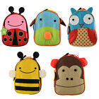 New Lovely Cute Animal Shape Picnic Lunch Bag Nursery Zoo for Children Toddler