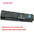 Toshiba Satellite C850 Genuine Original Laptop Battery PA5024U 1BRS PABAS260