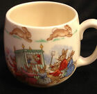ROYAL DOULTON BUNNYKINS PUPPET SHOW FINE BONE CHINA CHILDS MUG ENGLAND