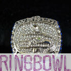 10PCS SEATTLE SEAHAWKS RING 2013 CHAMPIONSHIP RING SOLID BACK