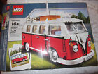 LEGO 10220 VOLKSWAGEN T1 CAMPER VAN CURTAINS SEATS TABLE AMAZING 1334 PC COMPLET
