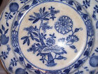 B. W. & Co. Dresden Late Mayers Blue Onion Dinner Plate