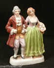 Vintage PORCELAIN French  18th C. Couple Flower Basket OCCUPIED JAPAN Figurine