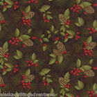 MODA Fabric ~ THROUGH THE WINTER WOODS ~ Holly Taylor END OF BOLT-  22 inches