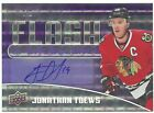 JONATHAN TOEWS AUTO - ONLY 3 MADE - 14 15 OVERTIME - FLASH OF EXCELLENCE PURPLE