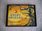 Angry Orchard Hard Cider apple ginger beer sign 6x8