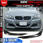 For 09 11 BMW E90 3 Series 328I 335 2PCS PP Front Bumper Lip Splitter Spoiler