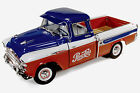 1957 Chevrolet Cameo Pick Up PEPSI truck 1:18 Auto World