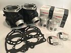 Top End Rebuild Kit NEW Ported Cylinders Wiseco Pistons Gaskets Yamaha R