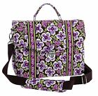 Vera Bradley Attache in Plum Petals