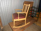 Vintage Rare Simmons Furniture Rocking Chair One Piece Construction 1920's Cool