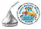 216 BUBBLE GUPPIES BIRTHDAY PARTY FAVORS HERSHEY KISS LABELS ~ envelope seals