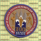 BSA MORMON LDS 2013 100th YEARS PATCH 100 HOURS OF SERVICE RARE!