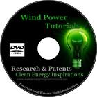 DVD How to Build a Wind Power Generator Alternative Free Energy Magnetic Motors
