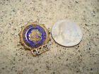 Old Obsolete NYPD Detective Mini Lapel Pin Numbered Pinback Badge Police Vintage