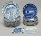 THIRTY PIECES OF EARLY 20TH CENTURY WEDGWOOD BLUE TRANSFER-DECORATED W... Lot 68