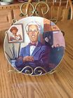 Tribute To Norman Rockwell 1894-1978 By Robert Charles Howe COA Collectors Plate