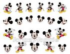 22 pcs Mickey Mouse Disney Cartoon self-adhesive Nail Sticker Decal New #04
