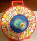 1983 Mattel SEE 'N SAY Toy- Original Pull String THE BEE SAYS Alphabet - Works!